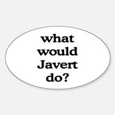 Javert Oval Decal