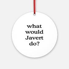 Javert Ornament (Round)