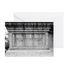 Albert Pike Statue Greeting Cards (Pk of 10)