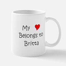 Cute Britta Mug