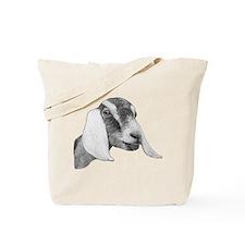 Nubian Goat Sketch Tote Bag