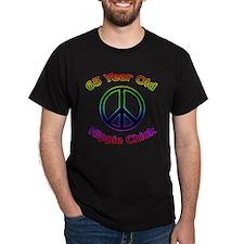 Hippie Chick 65th Birthday T-Shirt