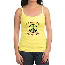 Hippie Chick 65th Birthday Tank Top
