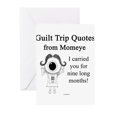 Nine Long Months Greeting Cards (Pk of 10)