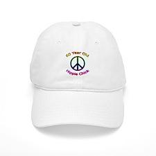 Hippie Chick 60th Birthday Baseball Cap