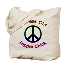 Hippie Chick 60th Birthday Tote Bag
