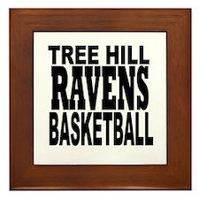 One Tree Hill Ravens Basketball Framed Tile