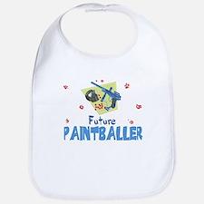 Future Paintballer Baby Infant Toddler Bib