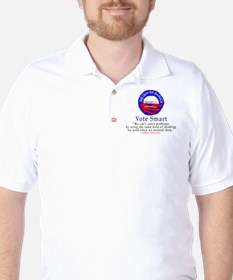 Vote Smart E=mc2 Golf Shirt
