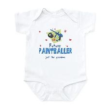 Future Paintballer Like Grandma Infant Bodysuit