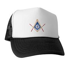 Masonic Sports Baseball Player Trucker Hat