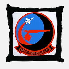 Cute Navy aircraft Throw Pillow