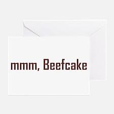 mmm, Beefcake! Greeting Cards (Pk of 10)