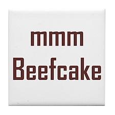 mmm, Beefcake! Tile Coaster