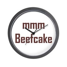 mmm, Beefcake! Wall Clock
