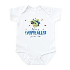 Future Paintballer like my Auntie Infant Bodysuit