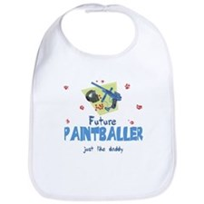 Future Paintballer like Daddy Baby Infant Bib