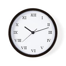 Roman Number Wall Clock