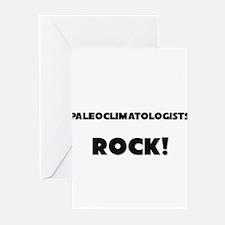 Paleoclimatologists ROCK Greeting Cards (Pk of 10)