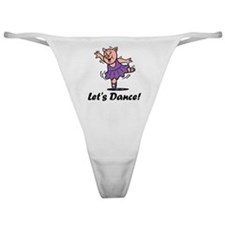 Let's dance pig Classic Thong