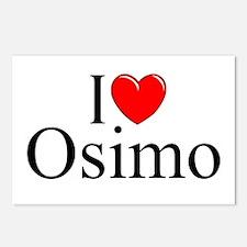 """I Love (Heart) Osimo"" Postcards (Package of 8)"