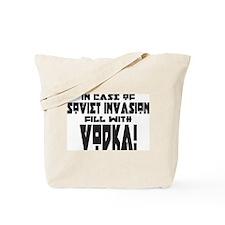 Soviet Invasion/Vodka Tote Bag
