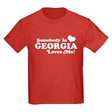 Somebody in Georgia Loves Me T