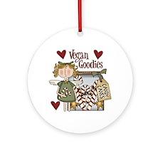 Vegan Goodies Christmas Tree Ornament