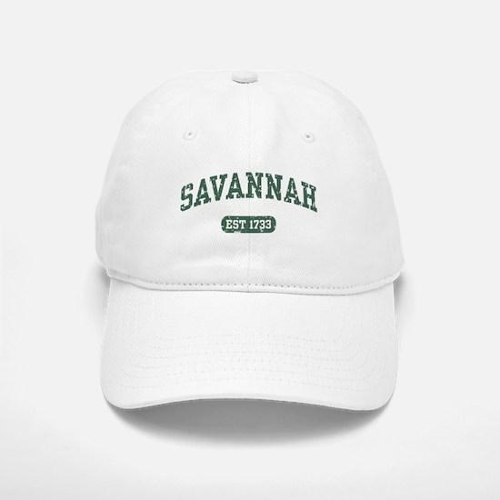 Savannah Est 1733 Baseball Baseball Cap