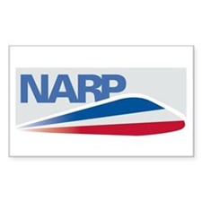 NARP Logo Rectangle Decal
