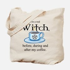 Coffee Witch Tote Bag