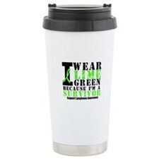 Lymphoma Survivor Travel Mug