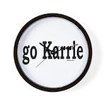 go Karrie Wall Clock