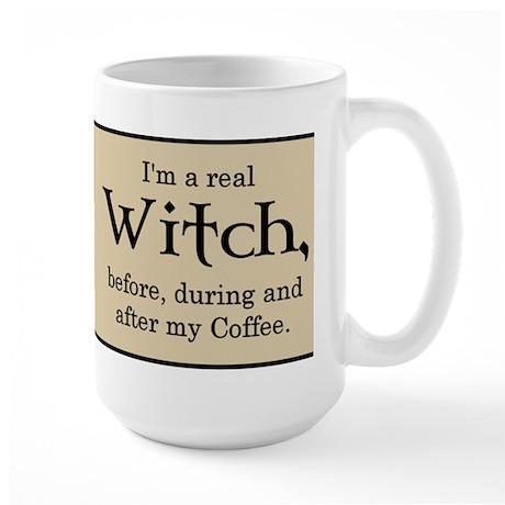 Coffee Witch Large Mug