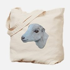 LaMancha Goat Portrait Tote Bag