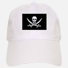 Pirate Captain Calico Jack Ra Baseball Baseball Cap