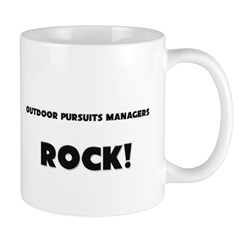 Outdoor Pursuits Managers ROCK Mug