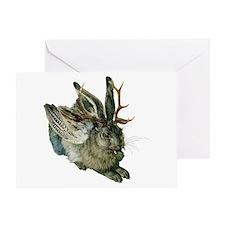 Wolpertinger Greeting Card