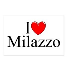 """I Love (Heart) Milazzo"" Postcards (Package of 8)"