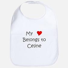 Cute Celine Bib