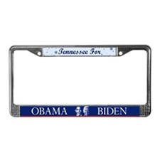 Tennessee for Obama License Plate Frame