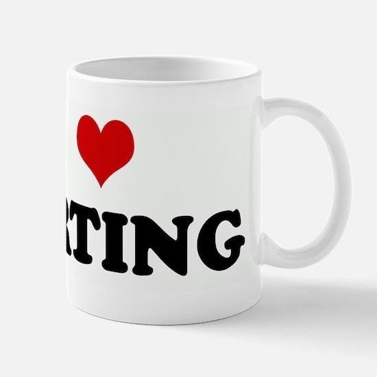 I Love FARTING Mug