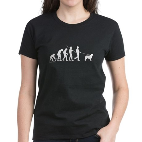 Newfie Evolution Women's Dark T-Shirt