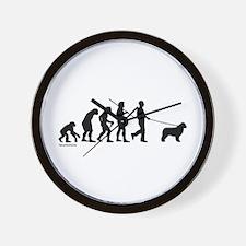 Newfie Evolution Wall Clock