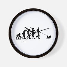 Lhasa Evolution Wall Clock
