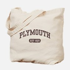 Plymouth Est 1620 Tote Bag
