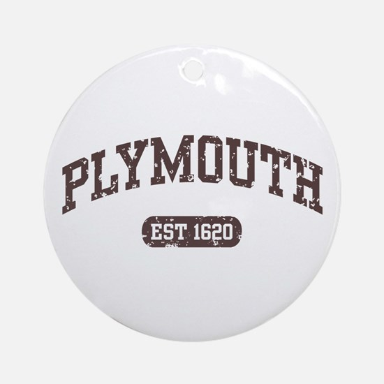 Plymouth Est 1620 Ornament (Round)