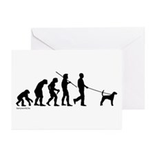 Foxhound Evolution Greeting Cards (Pk of 20)