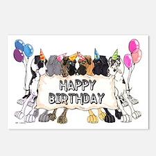N6 Happy Bday Postcards (Package of 8)