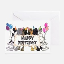 N6 Happy Bday Greeting Cards (Pk of 20)